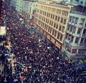 march against police brutality